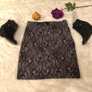 Lace Stretch Skirt